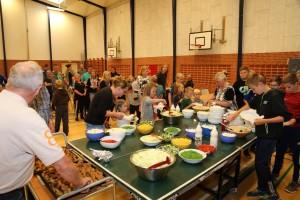 Fællesspisning fredag