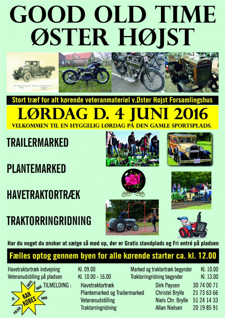 Good Old Time A3 Plakat 2016