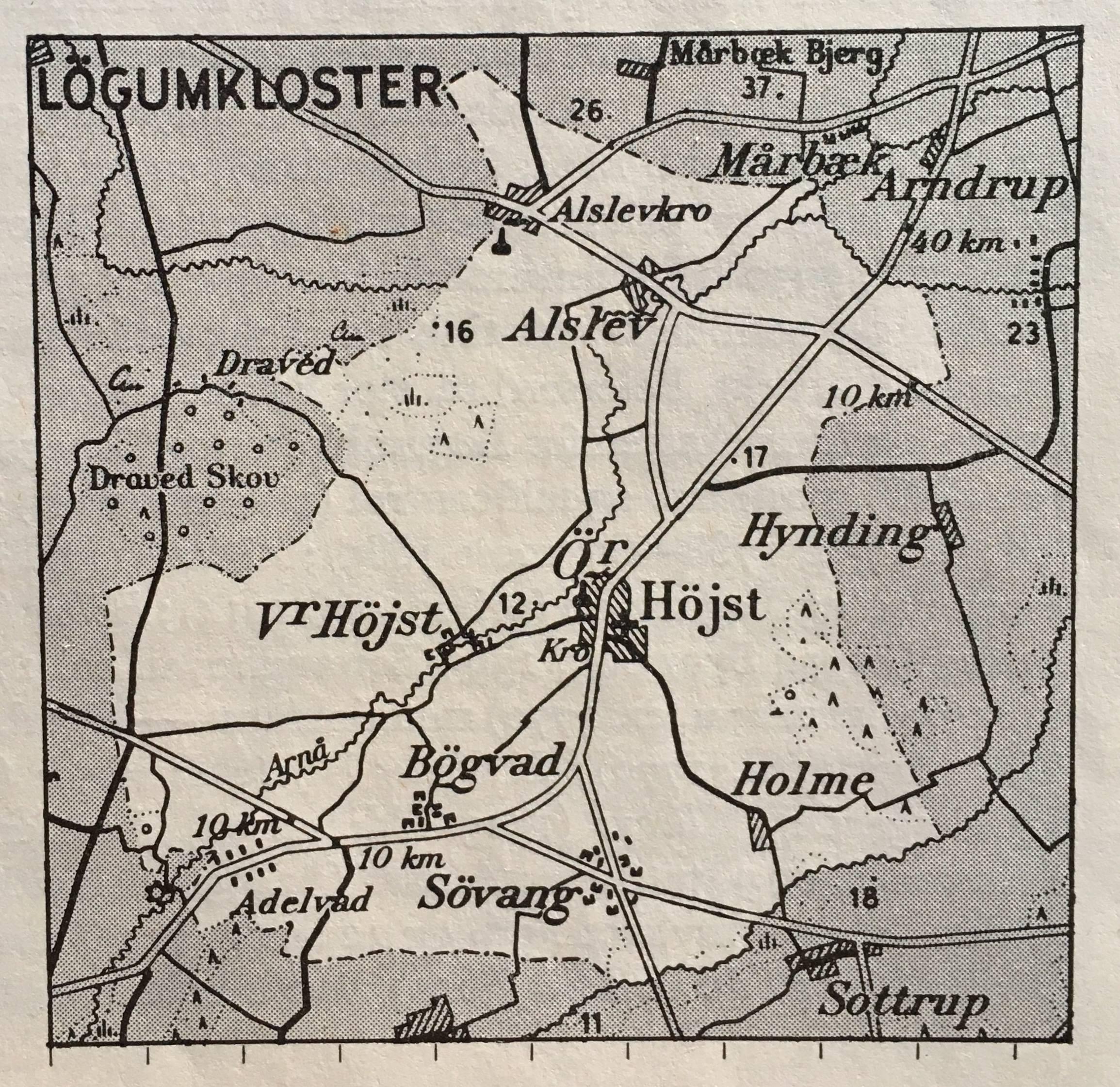Historiske Hojst Oster Hojst
